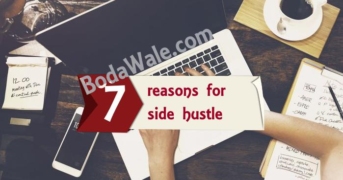 7 reasons for side hustle