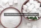 best drink to quit sugar