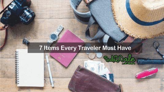 traveler items
