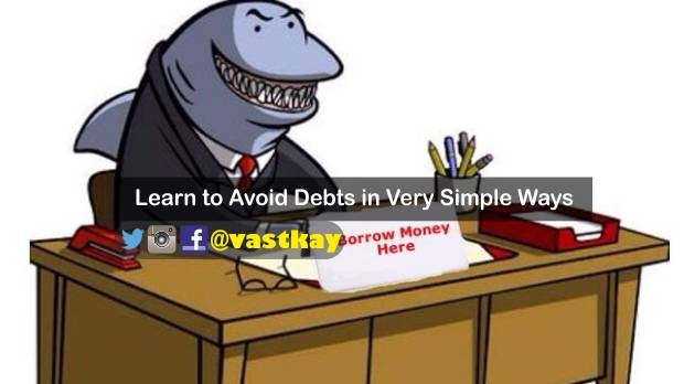 learn to avoid debts