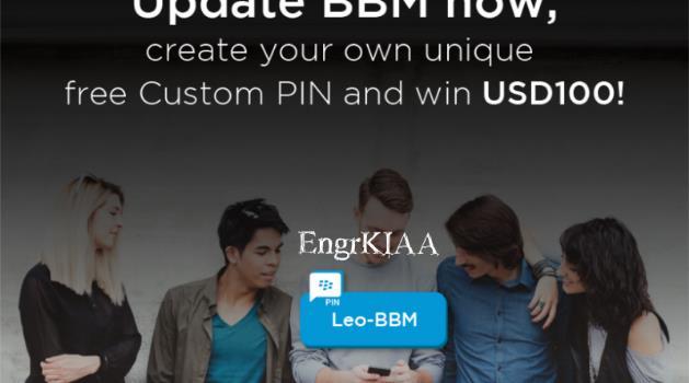 bbm custom pin contest