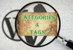 categorizing content on blogs