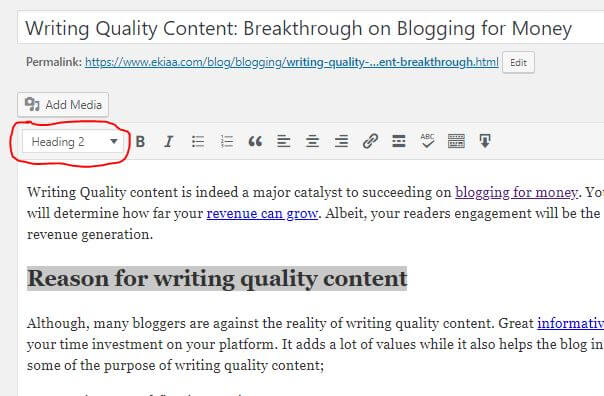 Writing Quality Content: Breakthrough on Blogging for Money 2