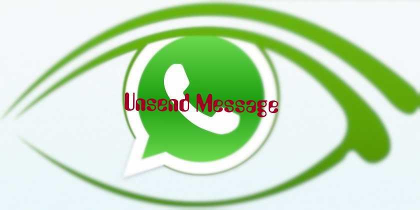 whatsapp unsend message