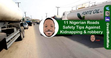 Nigerian roads safety tips